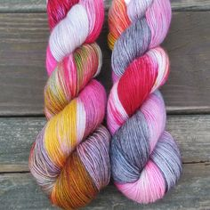 Perfectly Wreckless - Northumbria Fingering - Babette   Miss Babs Hand-Dyed Yarns & Fibers, Inc. $26