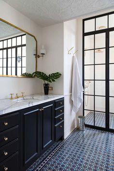 Black and White Bathroom Idea Pictures. 20 Black and White Bathroom Idea Pictures. why A Classic Black and White Bathroom is Always A Winner Bad Inspiration, Bathroom Inspiration, Gray And White Bathroom, Neutral Bathroom, Aqua Bathroom, Bathroom Vinyl, Bamboo Bathroom, Bathroom Small, Glass Bathroom