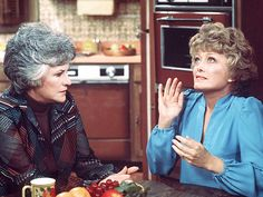 Bea Arthur and Rue McClanahan. Before The Golden Girls, there was Maude! Rue Mcclanahan, Bea Arthur, Tv Land, Golden Girls, Show Photos, Classic Tv, Along The Way, Girl Humor, We The People