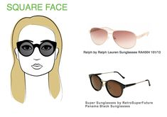 Best Glasses Frame For Square Face : 1000+ images about Sunglasses for your Face Shape on ...