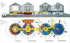 Αστικός Ταμιευτήρας | Urban Reserve: Reused Industrial Cylindrical Deposits - Reserves