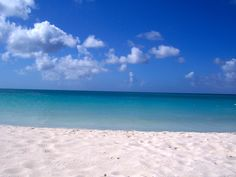 Eagle Beach, Aruba - want to be there NOW!