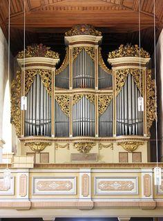 Roetha - Sankt Georgenkirche - Gottfried Silbermann (1721)