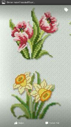 123 Cross Stitch, Cross Stitch Heart, Cross Stitch Flowers, Cross Stitch Patterns, Embroidery Stitches, Hand Embroidery, Butterfly Flowers, Cross Stitching, Beading Patterns