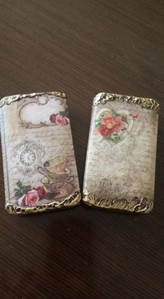 little soap with decoupage ...
