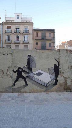 definición gráfica de #primaveravalenciana by escif  http://www.flickr.com/photos/escif