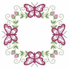 Butterfly Fancy Block 1 - 3 Sizes! | What's New | Machine Embroidery Designs | SWAKembroidery.com Ace Points Embroidery