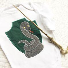 Harry Potter Slytherin baby onesie vest
