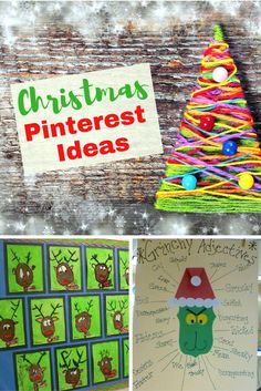 Are you in need of some Christmas ideas to do in your classroom this holiday season? Check out some of my favorite December pins. There are some fun activities you can do with your students. Check out the fun Grinch anchor chart, reindeer art project, and