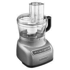 KitchenAid® 7 Cup Food Processor - Contour Silver
