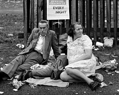 Chris Killip: Family at Durham Miner's Gala, Durham, 1975