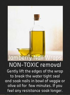 Non Toxic Removal Method for Jamberry Nails