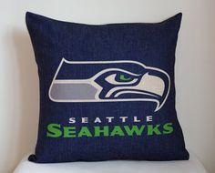NFL Seattle Seahawks pillow cover, decor pillow cover with Seattle Seahawks,Seattle Seahawks pillow ** Notice: all NBA ,NFL and NHL teams