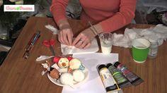 Игрушки из ваты своими руками/ Мастер-класс/ Spun-cotton ornaments