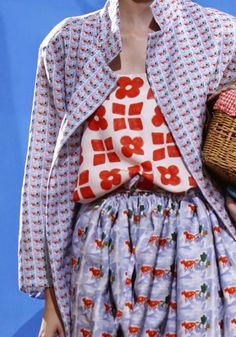 patternprints journal: PRINTS, PATTERNS AND SURFACE EFFECTS: BEAUTIFUL DETAILS FROM MILAN FASHION WEEK (WOMAN COLLECTIONS SPRING/SUMMER 2015) / Daniela Gregis