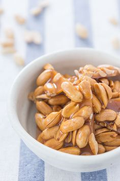 Peanut brittle is ridiculously simple to make, and this version leaves out the baking soda for a sweeter taste.