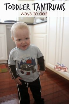 Toddler Approved!: Toddler Tantrums... Ways to Deal