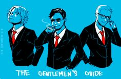 The Gentlemen's Guide by mikkie12 on DeviantArt
