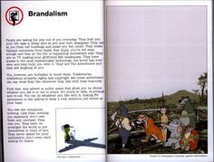 """Brandalism"" from a banksy book, but written by another bloke."