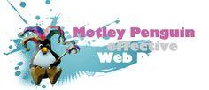 Motley Penguin Web Design: web design, hosting, search engine optimisation and email - motleywebdesign.com