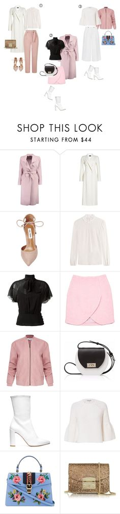 """""""Spring look day to night"""" by yourstylemood ❤ liked on Polyvore featuring Boohoo, Joseph, Steve Madden, RED Valentino, Carven, Helmut Lang, Joanna Maxham, Stuart Weitzman, Victoria, Victoria Beckham and Elizabeth and James"""