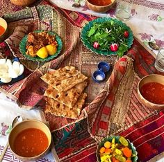 Iranian dish - Abgousht and friends!