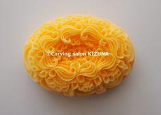 『さざ波』ソープカービングSoap carving work#craft#石鹸彫刻#Soap flower