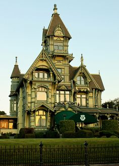 Carson Mansion The Old Town Eureka - Humboldt County, California