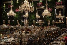 Velas na decoração para casamento de luxo   Blog Vox Ambientações