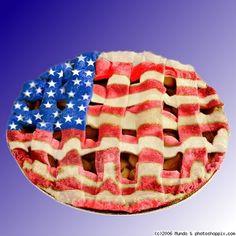 As American as apple pie. #redwhitebgosh