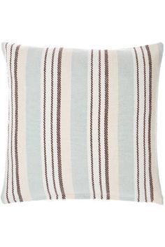 Vanilla Sky Woven Cotton Decorative Pillow   Dash & Albert Rug Company