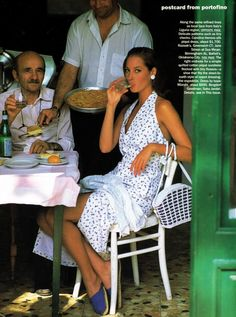 awesome Timeless| Christy Turlington para Vogue US Dezembro 1992 por Arthur Elgort  [Editorial]
