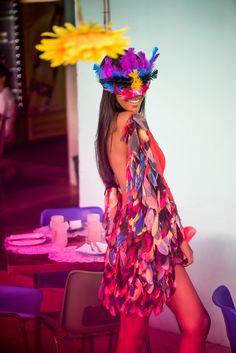 Fantasia Pássaro!  #lavicarnavaliza #carnaval2015 #folia #blocoderua #fantasiaslavi #passaro #lavibh