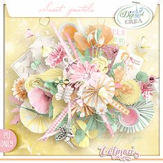Sweet pastels - Kit complet -