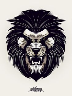 Tattoo Lion Angry Animals Ideas For 2019 Lion Tattoo Design, Lion Design, Lion Vector, Vector Art, Logo Lion, Tattoo L, Angry Animals, Dragons, Lion Images