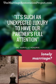 Are you in a lonely marriage? For you if you're in an unhappy marriage: http://themarriagerestorationproject.com/are-you-feeling-lonely-in-a-relationship/