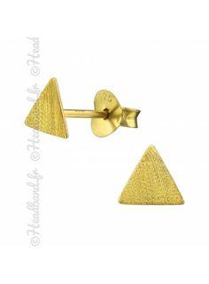 Boucles d/'oreilles en argent sterling avec c/œur et licorne en forme de c/œur plaqu/é or