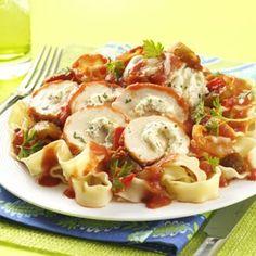 Chicken Cannelloni Recipe from Taste of Home -- shared by Barbara Nowakowski of North Tonawanda, New York