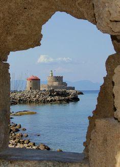 Get a Chance to Win - Fairy Queen Travel Rhodes Island Greece, Greece Islands, Greece Photography, Travel Photography, Cool Places To Visit, Places To Travel, Beautiful Islands, Beautiful Places, Myconos