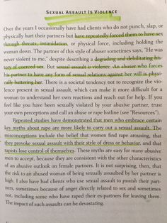 "why does he do that pdf Reading about abusive men and the way they think. ""Why Does He DO ..."