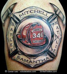 Fireman 39 s maltese cross metal art pinterest logos for Firefighter tattoos and meanings