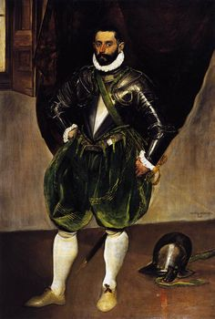 """El Greco (1541-1614) """" Retrato de Vincenzo Anastagi """""""