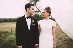 Love wedding photos that capture the bride and groom straight on.
