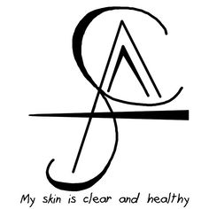 """Anonymous said: Can you make a sigil to help get rid of pimples? Answer: """"My skin is clear and healthy"""" sigil You could also try finding some glamour magic to help hide pimples. Wiccan Spell Book, Witch Spell, Wiccan Spells, Magic Spells, Witchcraft, Spell Books, Wiccan Symbols, Magic Symbols, Ancient Symbols"""