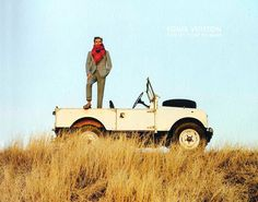 CHAD'S DRYGOODS: LAND ROVER DEFENDERS ARE HIGH FASHION
