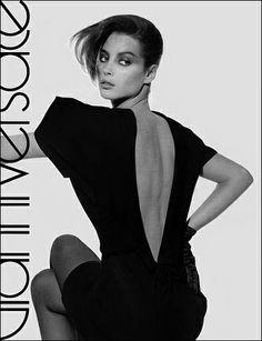 Christy Turlington for GIANNI VERSACE -  Collezione Donna Autunno-Inverno 1987/88 (Fronte)