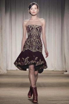 Marchesa Fall Winter Ready To Wear 2013 New York