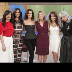 Thanks again for a great time yesterday @abctheview ! Love these fierce chicas! @rosieperezbrooklyn @roselyn_sanchez #NicolleWallace @therealsusanlucci @ravensymone #DeviousMaidsS3