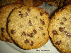 Betty's Cuisine: Μπισκότα με ταχίνι, βρώμη και μέλι Cake Cookies, Cupcake Cakes, My Recipes, Healthy Recipes, Recipies, Greek Desserts, Tasty, Yummy Food, Stevia