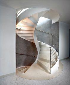 Rizzi, escaleras de caracol de cemento